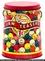 Jaw Teasers Gum Pail