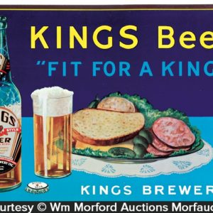 Kings Beer Sign