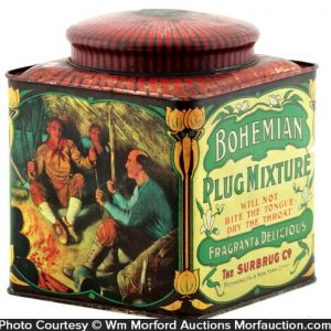Bohemian Plug Mixture Tobacco Tin
