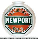 Newport Gasoline Globe