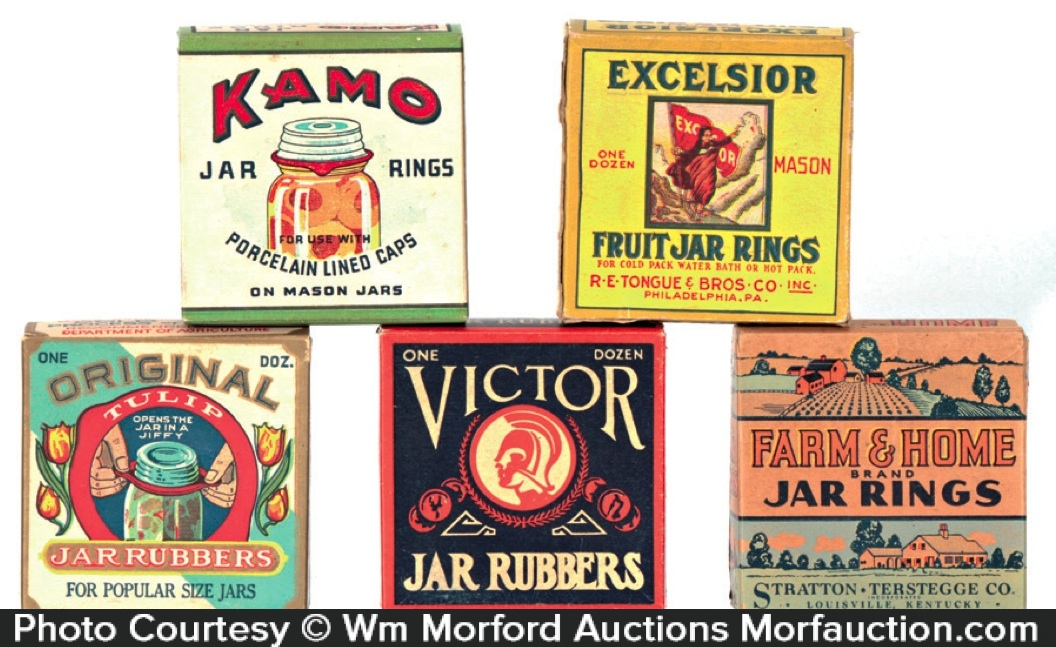 Jar Rubbers Boxes