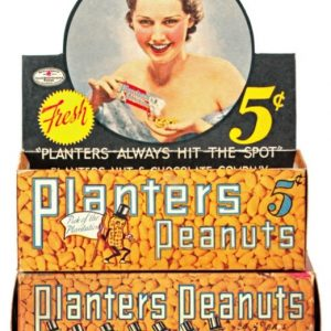 Planters Peanuts Display