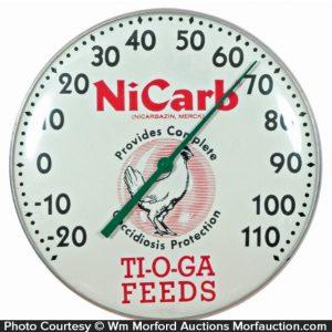 Nicarb Ti-O-Ga Thermometer