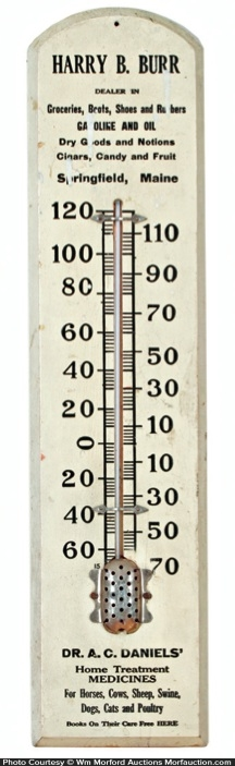 Dr. Daniels Thermometer
