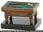 Billiard Table Match Holder