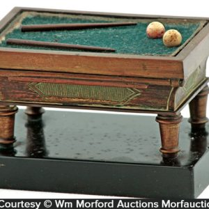 Billiard Table Match Holder