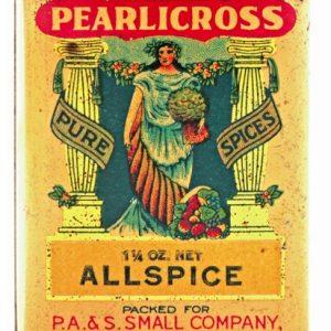 Pearlicross Spice Tin