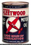 Fleetwood Motor Oil Can