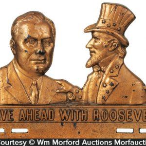 Roosevelt Plate Topper