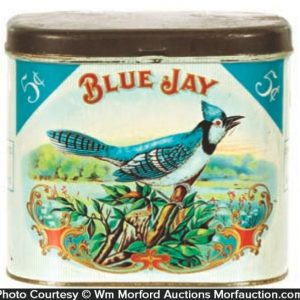 Blue Jay Cigar Tin