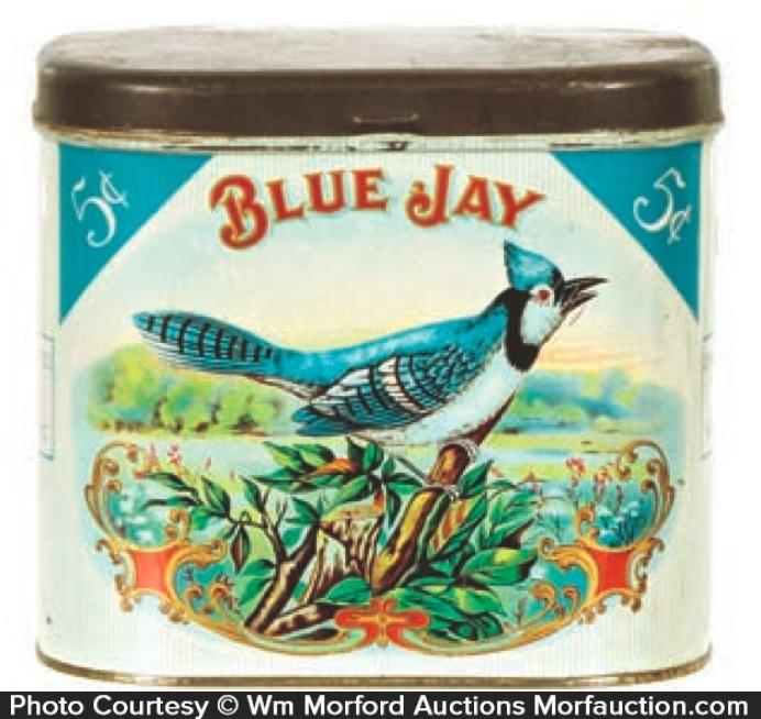 Blue Jay Cigar Tin