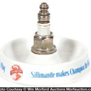 Champion Spark Plugs Ash Tray