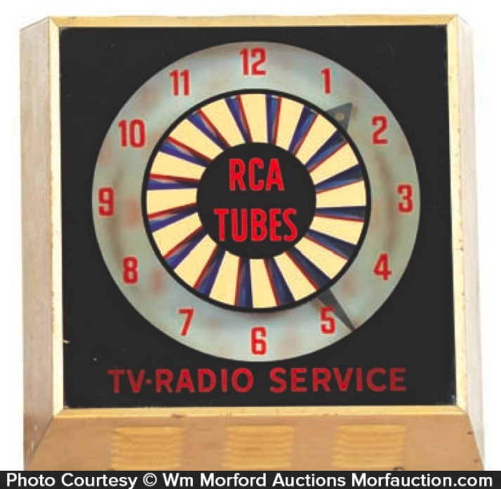 Rca Tubes Radio Clock