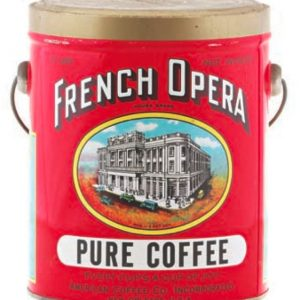 French Opera Coffee Can