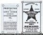 Porcelain Detective Agency Signs