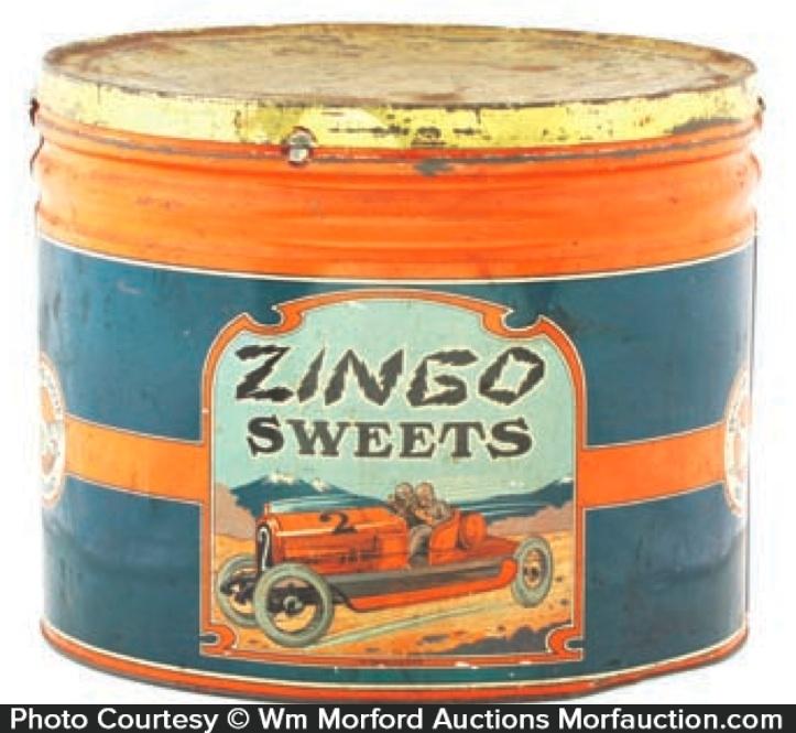 Zingo Sweets Candy Tin