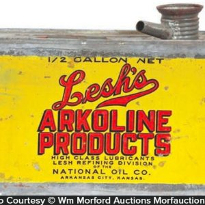 Lesh's Akoline Oil Can