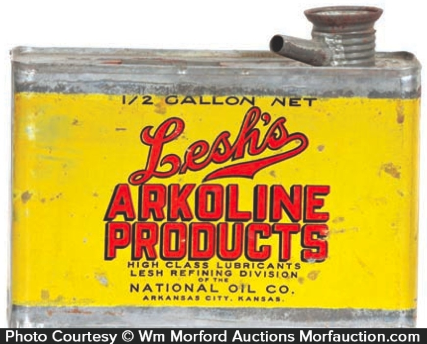 Lesh's Akoline Oil Can