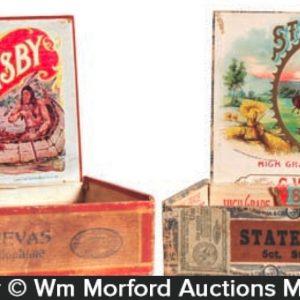 Antique Cigar Boxes