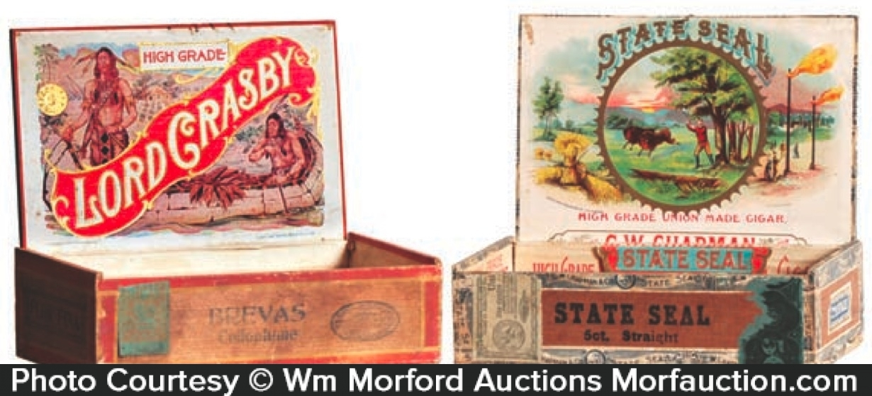 Antique Cigar Boxes