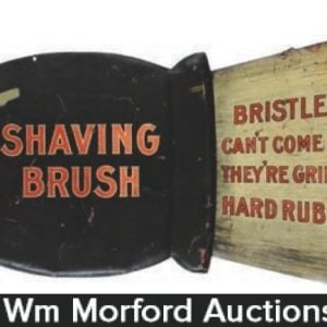 Rubberset Shaving Brush Sign