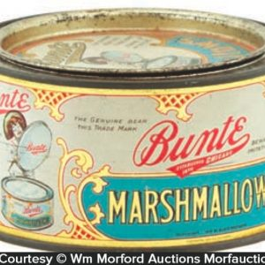 Bunte Marshmallows Tin