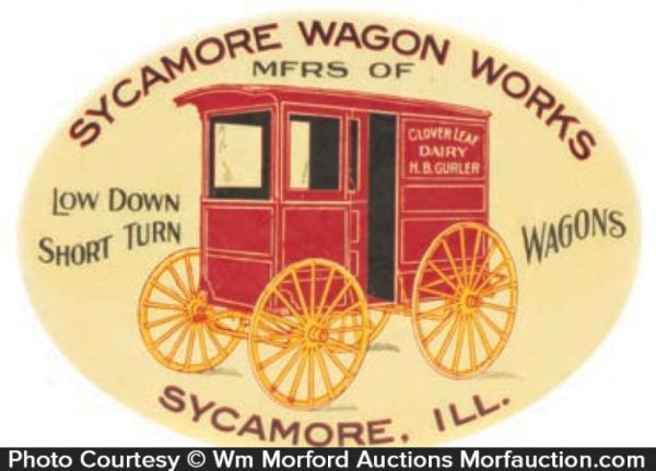 Sycamore Wagons Mirror