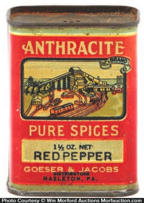 Anthracite Spice Tin
