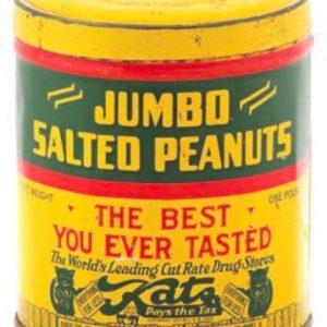 Katz Peanut Tin