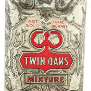 Twin Oaks Tobacco Sample Tin
