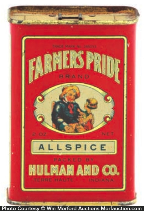 Farmers Pride Spice Tin