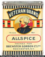 Veteran Spice Tin