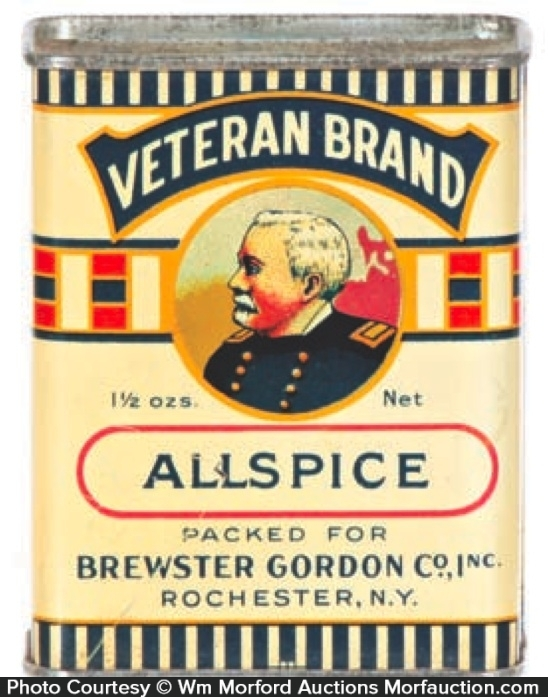 Veteran Spice Tin