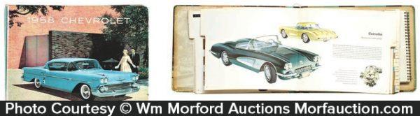 1958 Chevrolet Dealers Showroom Book