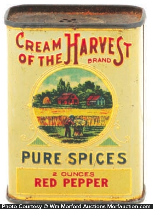 Cream Of Harvest Spice Tin