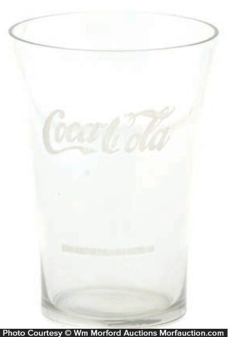 Vintage Coca-Cola Soda Glass