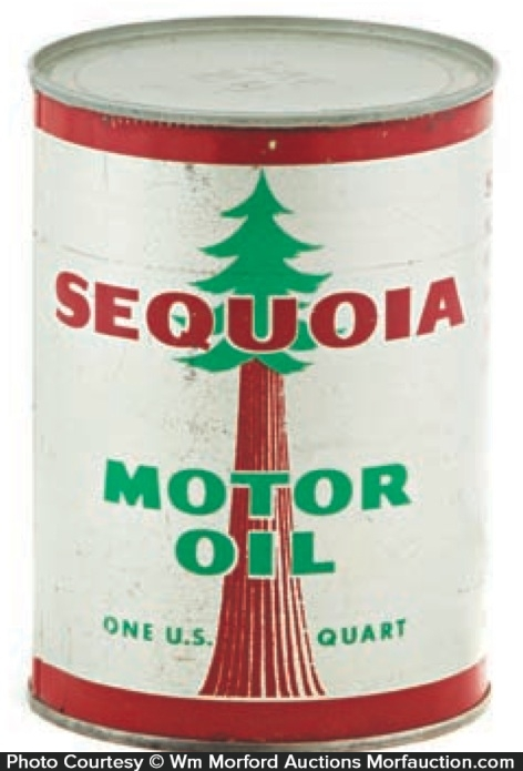Sequoia Motor Oil Can
