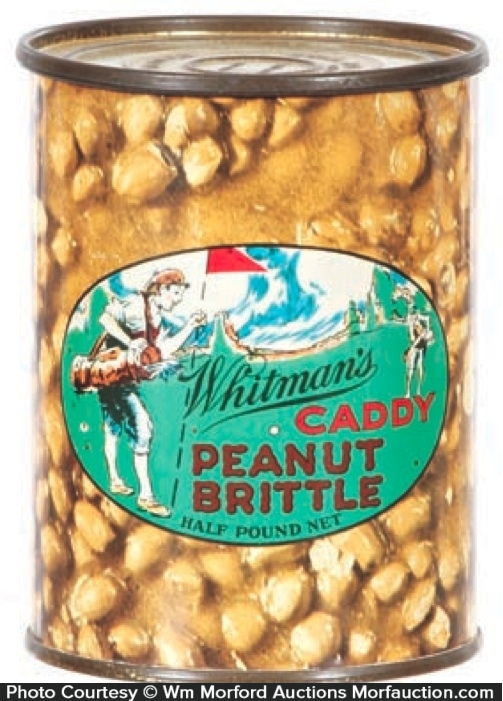 Caddy Peanut Brittle Tin