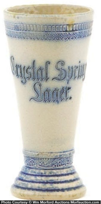 Crystal Springs Lager Mug