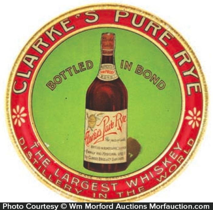Clarke's Rye Whiskey Tray