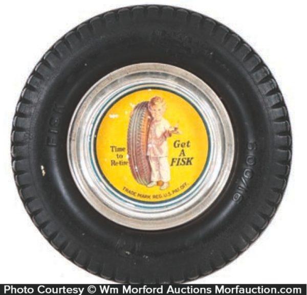 Fisk Tires Ashtray