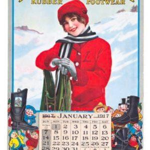 Lambertville Rubber Footwear Calendar