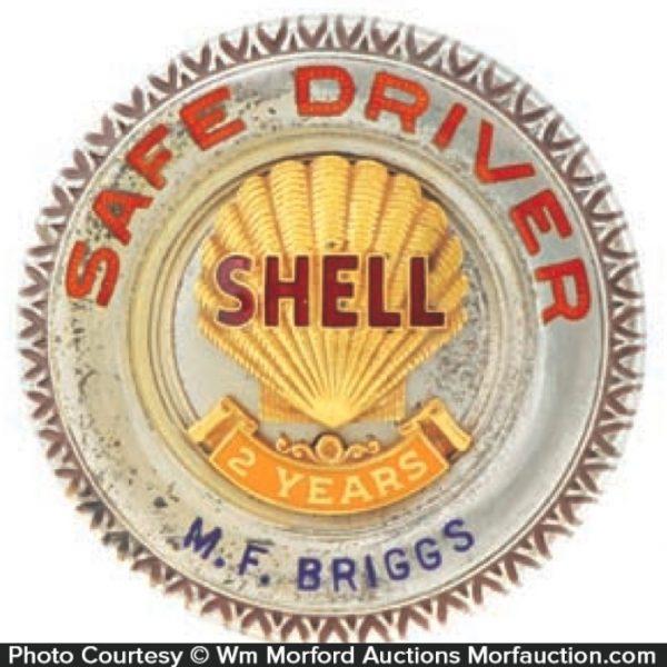 Shell Safe Drivers Badge