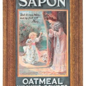 Sapon Washing Powder Sign