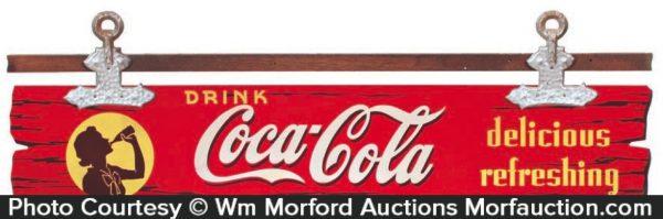 Coca-Cola Wooden Sign