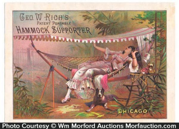 Rich's Hammock Sign