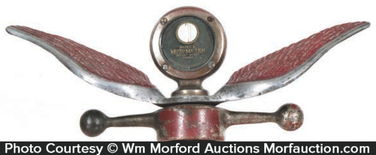 Moto Meter Hood Ornament
