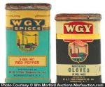 Wgy Spice Tins