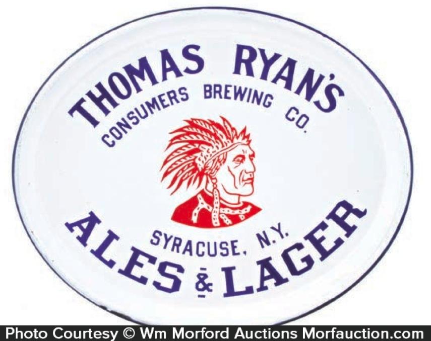 Consumers Thomas Ryan Beer Tray