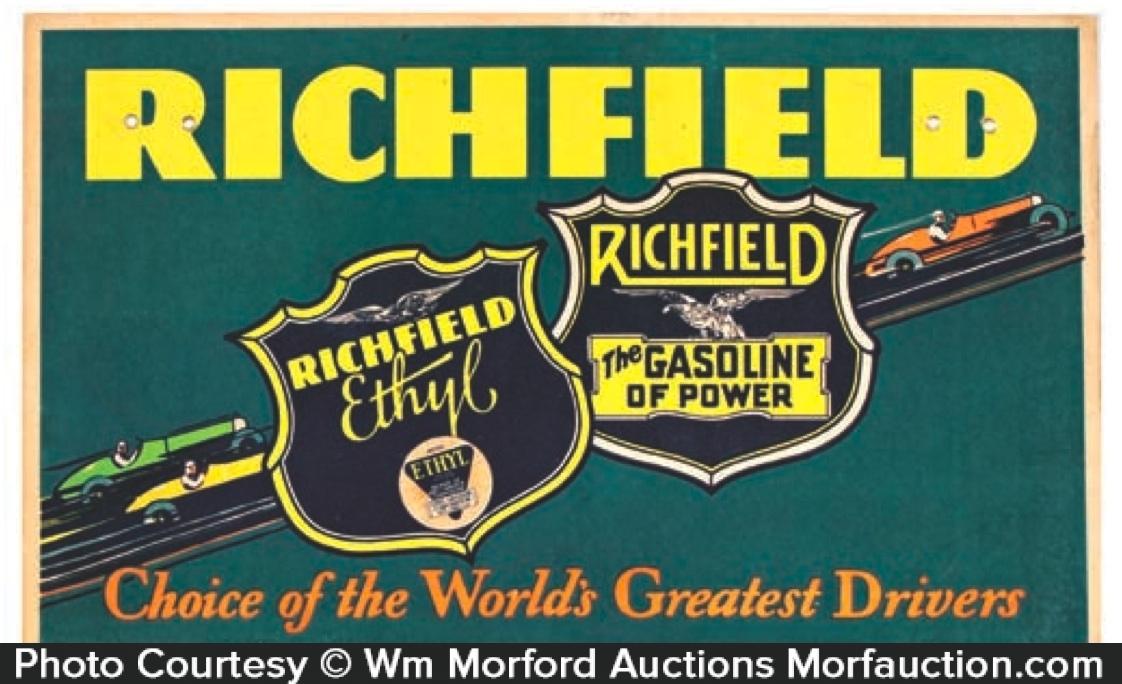 Richfield Gasoline Sign